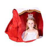 Dětský batoh svlastním potiskem – červený