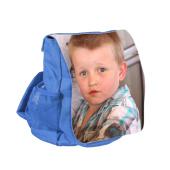 Dětský batoh svlastním potiskem – modrý