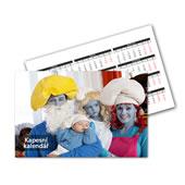 Kapesní kalendáříky od 8ks