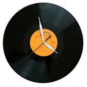 Retro hodiny gramofonová deska 2